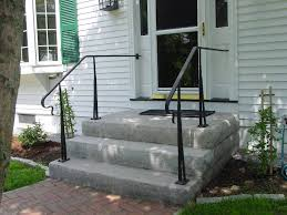 Porch Steps Handrail Stairs Marvellous Railings For Front Steps Iron Railings For