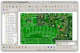 pcb design software pcb design resource zenitpcb free layout software printed