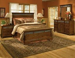 Traditional Bedroom Design - bedroom traditional bedroom design with rustic pine bed frame