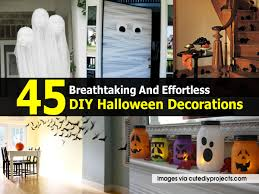 home made holloween decorations 45 breathtaking and effortless diy halloween decorations