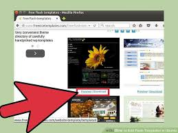 how to edit flash templates in ubuntu 15 steps with pictures