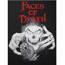 Dark Posters Faces Of Death Glow In The Dark Poster U2013 Gorgon Video