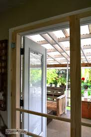 Insect Screen For French Doors - installing screen doors on french doors easy and cheap funky
