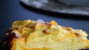 cuisiner mangue gâteau fondant dit invisible aux pommes et à la mangue