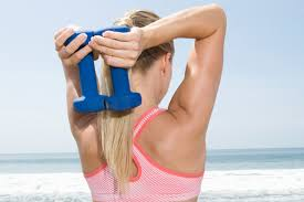 ask the celebrity trainer how do i get rid of arm fat shape