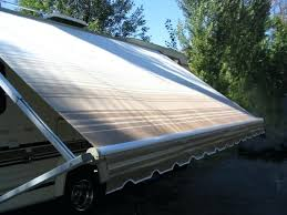 Solera Rv Awnings Solera Rv Awning Green Fade With White Weather Guard 12 Rv Awning
