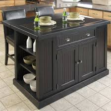 belmont black kitchen island articles with stainless steel kitchen island with granite top tag