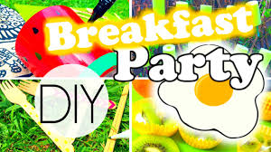 diy summer breakfast party decorations food and more youtube