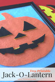 free jack o lantern printable kid activities activities and free