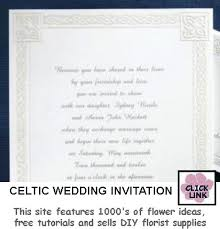 celtic wedding invitations celtic wedding invitations