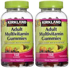 amazon com kirkland signature multi gummies 160 ct 2 pk
