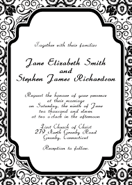 Wedding Invitations Templates 10 Best Images Of Wedding Invitation Templates Online Free Free