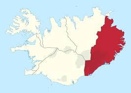 Iceland World Map Eastern Region Iceland Wikipedia