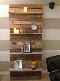 bookshelves made out of pallets classic decoration office of