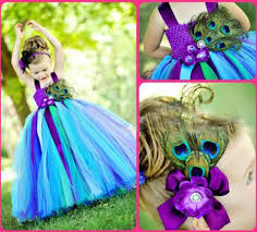wholesale cheap flower dresses peacock cosplay tutu 2016