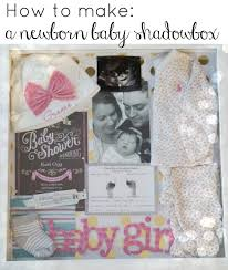 baby shadow box newborn baby shadowbox graceful
