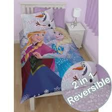 Frozen Toddler Bedroom Set Frozen Crystal Single Duvet Cover Reversible Bedding