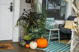 Fall Patio Fall Front Door Decorating Ideas
