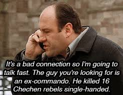 Tony Soprano Memes - if you think tony soprano was badass you can t handle paulie