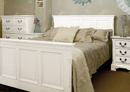decoration contemporary white platform bed and white wooden