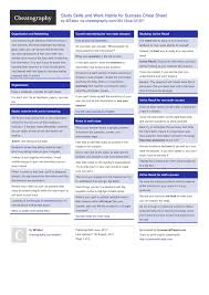 study skills and work habits for success cheat sheet by mtabor