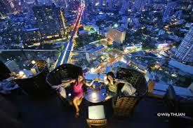 Top Ten Rooftop Bars Octave Rooftop Bar At Bangkok Marriott Hotel Sukhumvit Sukhumvit