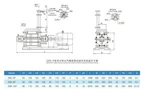 Water Ring Vaccum Pump 2sk P Water Liquid Ring Vacuum Pumps With Air Ejector