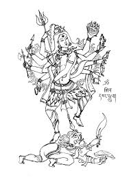 shiva 8 bras india u0026 bollywood coloring pages for adults