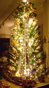 an amazing collection of wine bottle christmas trees u2013 the wine