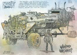the explosively awesome concept art of mad max fury road