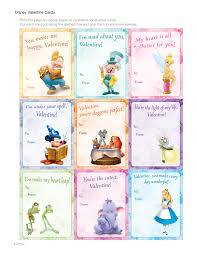 disney valentine cards disney family