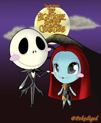 this is halloween jack and sally by pokediged on deviantart