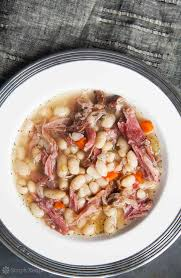 white bean and ham soup half cup habit