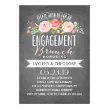 engagement brunch invitations engagement brunch invitations announcements zazzle