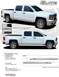 truck gmc 2014 2018 gmc sierra elite 3m pro grade vinyl side stripes decals