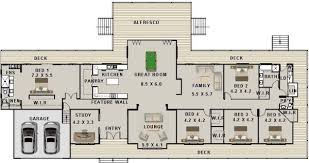 5 bedroom floor plans new modern homestead ranch style 5 bedroom study modern