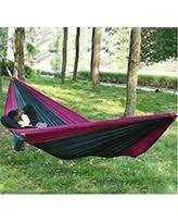 deal alert outdoor camping hammock with mosquito net garden