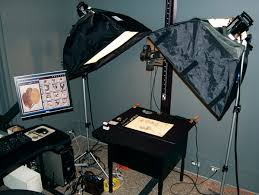 camera copy stand with lights digital photo repro and digital asset management dam copy stand