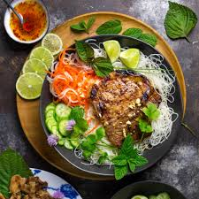 vietnamese grilled pork chops thit heo nuong xa