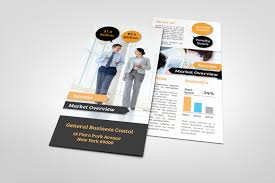 corporate rack card template graphicriver print templates