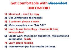 Get Comfortable Get Comfortable With Uncomfort