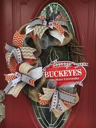 wreath door wreath team wreath osu wreath ohio state