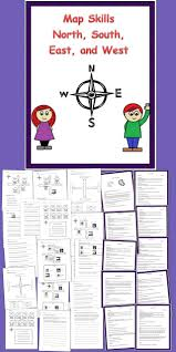 Special Education Worksheets Map Skills N S E W Special Education Worksheets And Extensions