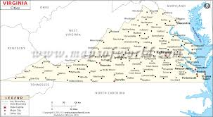 virginia map cities in virginia virginia cities map