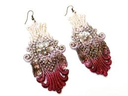 lace accessories painted lace jewelry by white accessories the beading