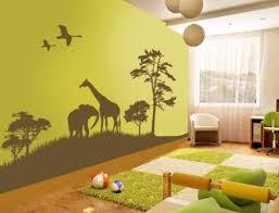 theme wall kids bedroom ideas kids bedroom wall murals green safari kids
