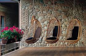 Rattan Swinging Chair Original Design Hanging Chair Rattan Outdoor Eureka By