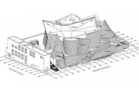 frank gehry walt disney concert hall u2014 motif no 3 los angles