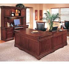 Bush Desks With Hutch Bush Furniture L Shaped Desk Somerset 71 Inch Mocha Cherry With