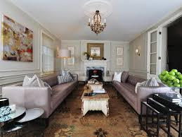 classically modern living room j allen hgtv